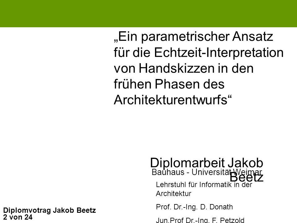 Diplomarbeit Jakob Beetz