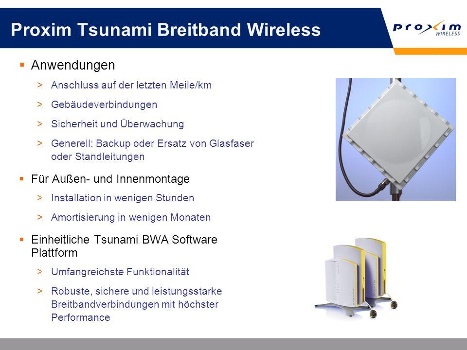 Proxim Tsunami Breitband Wireless