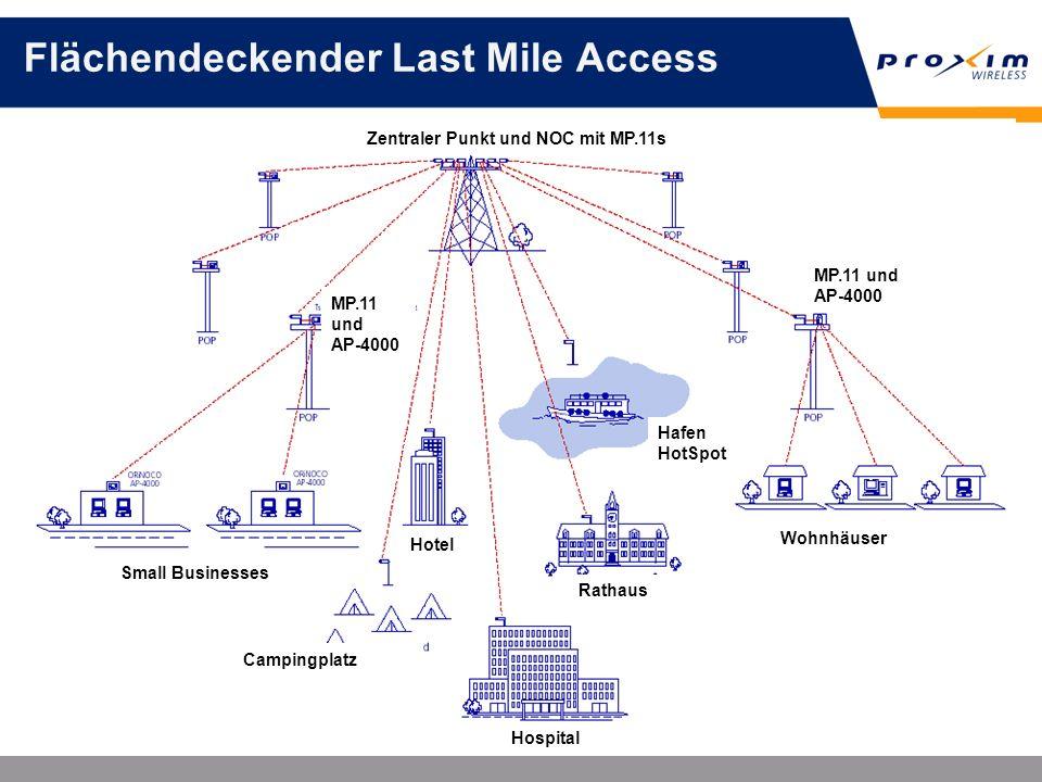 Flächendeckender Last Mile Access