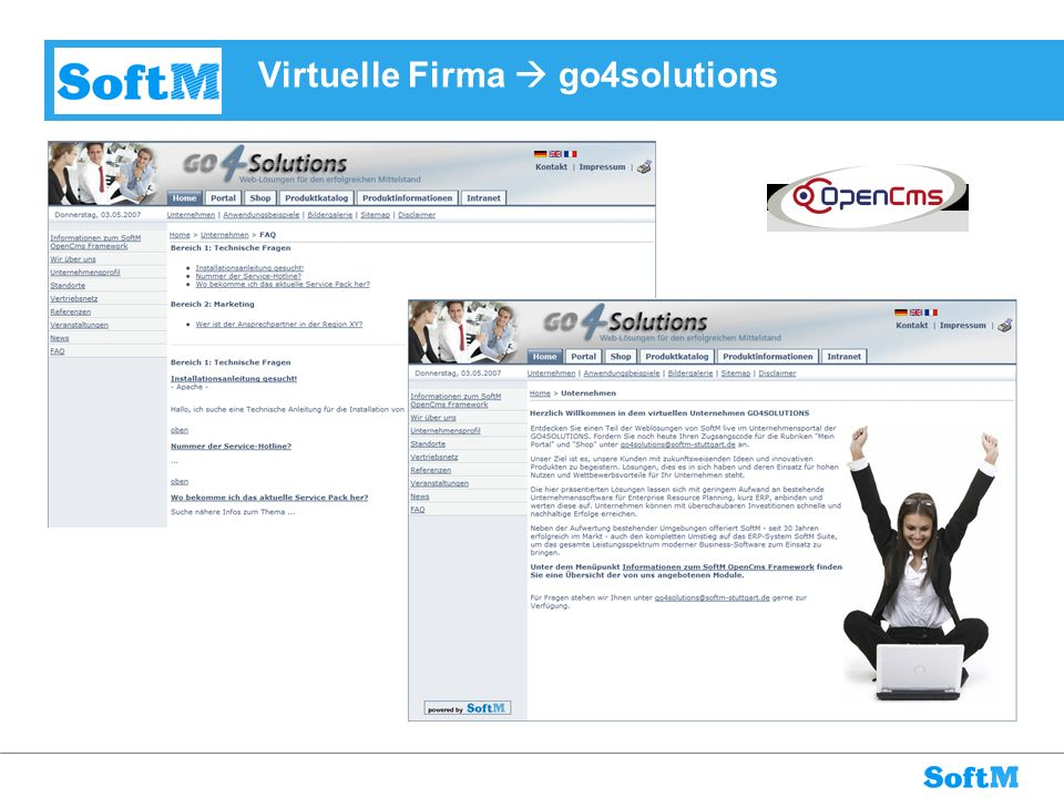 Virtuelle Firma  go4solutions