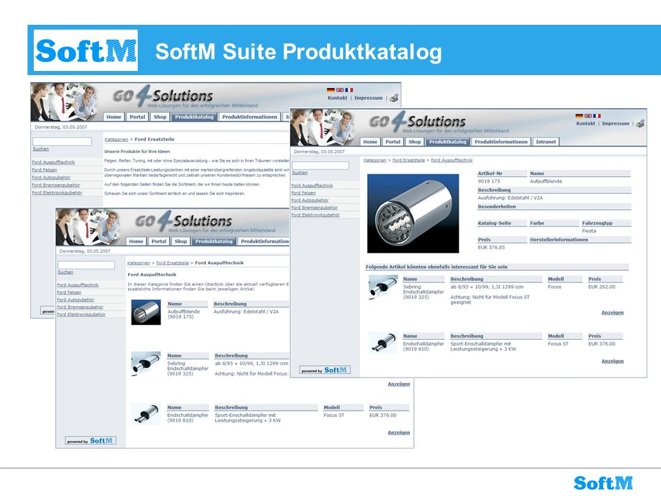 SoftM Suite Produktkatalog