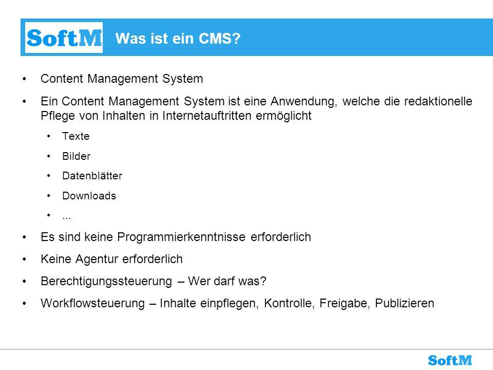Was ist ein CMS Content Management System