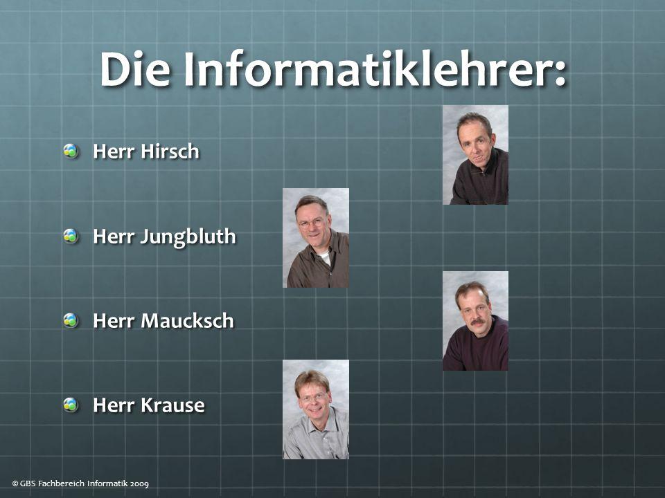 Die Informatiklehrer: