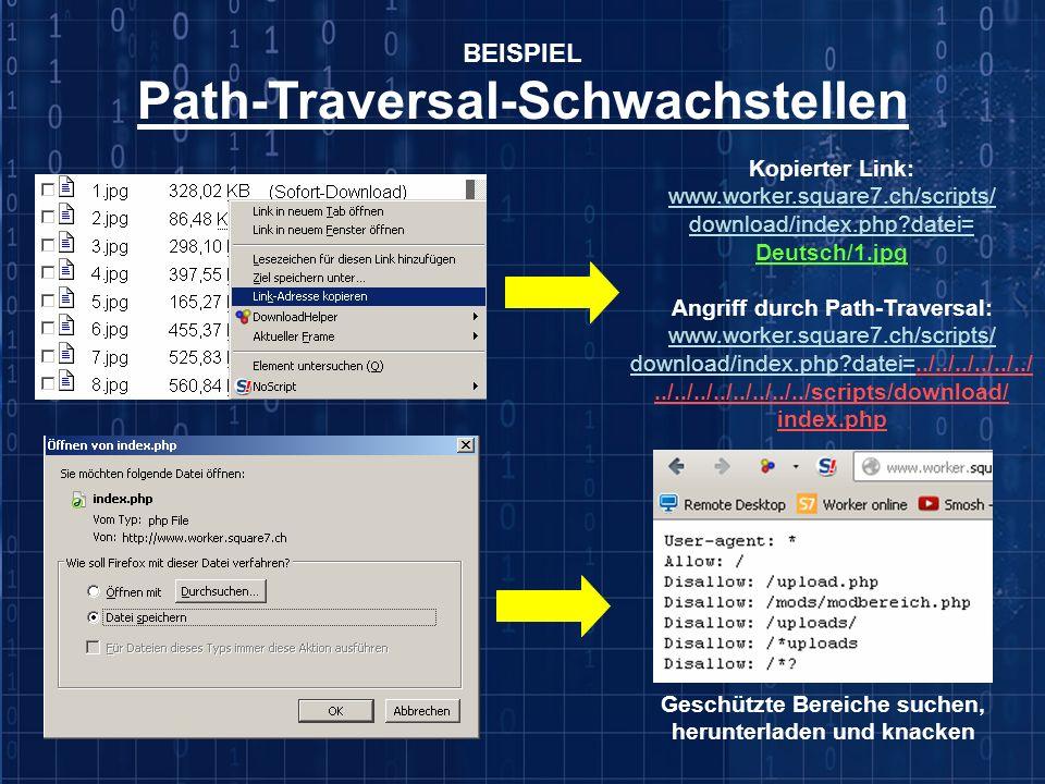 Path-Traversal-Schwachstellen