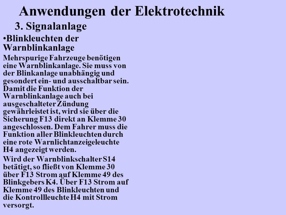 Anwendungen der Elektrotechnik