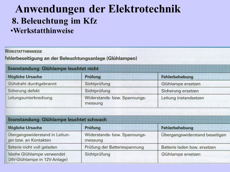 Wunderbar Elektrische Stromkreise Für Kraftfahrzeuge Fotos ...