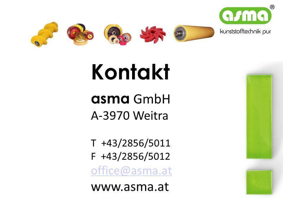 Kontakt asma GmbH A-3970 Weitra T +43/2856/5011 F +43/2856/5012