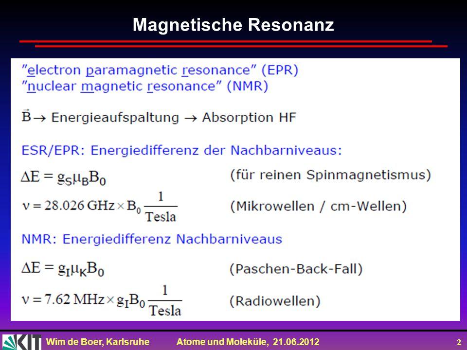 Magnetische Resonanz