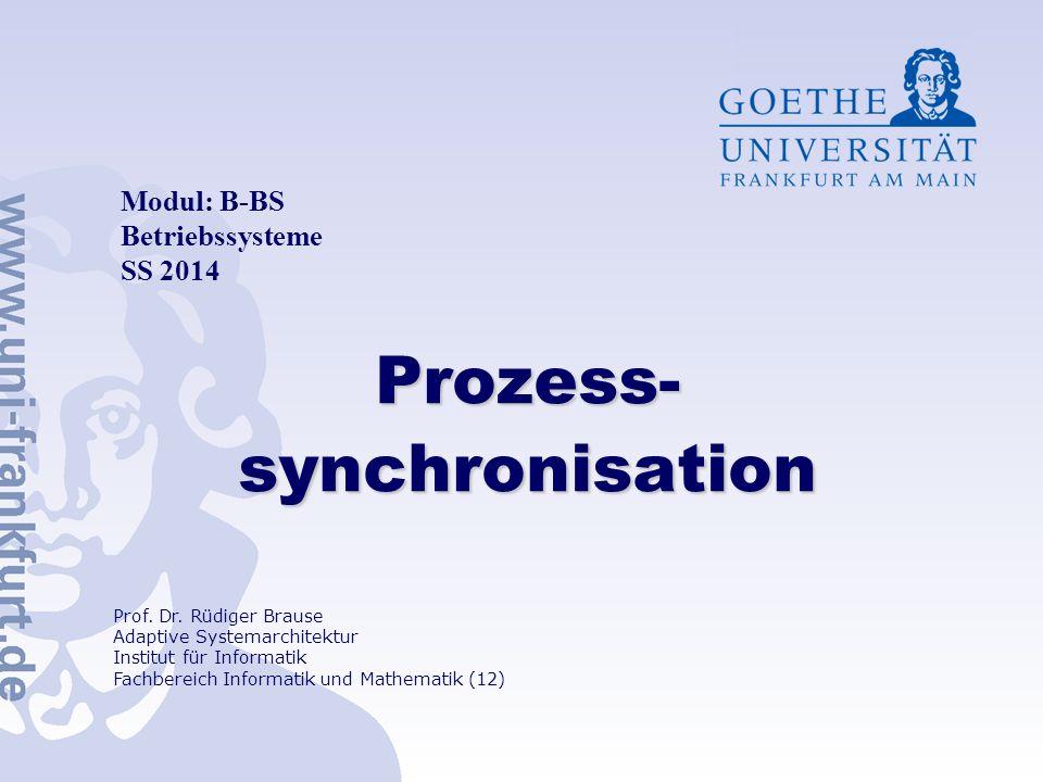Prozess-synchronisation
