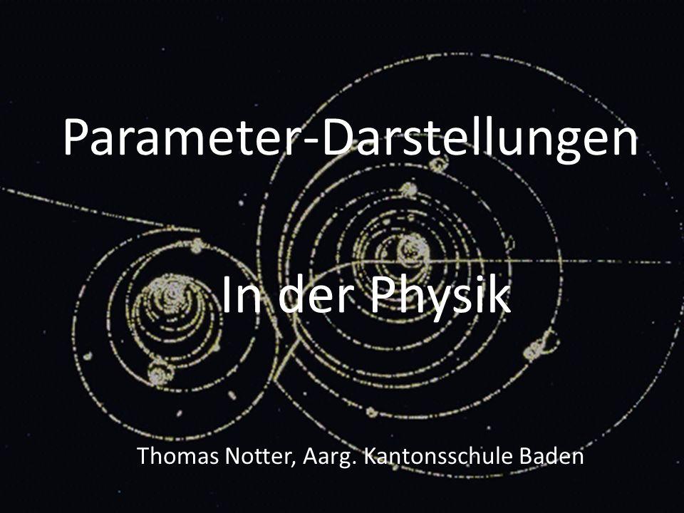 Parameter-Darstellungen