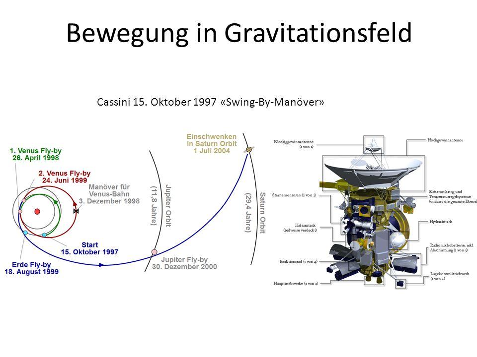 Bewegung in Gravitationsfeld
