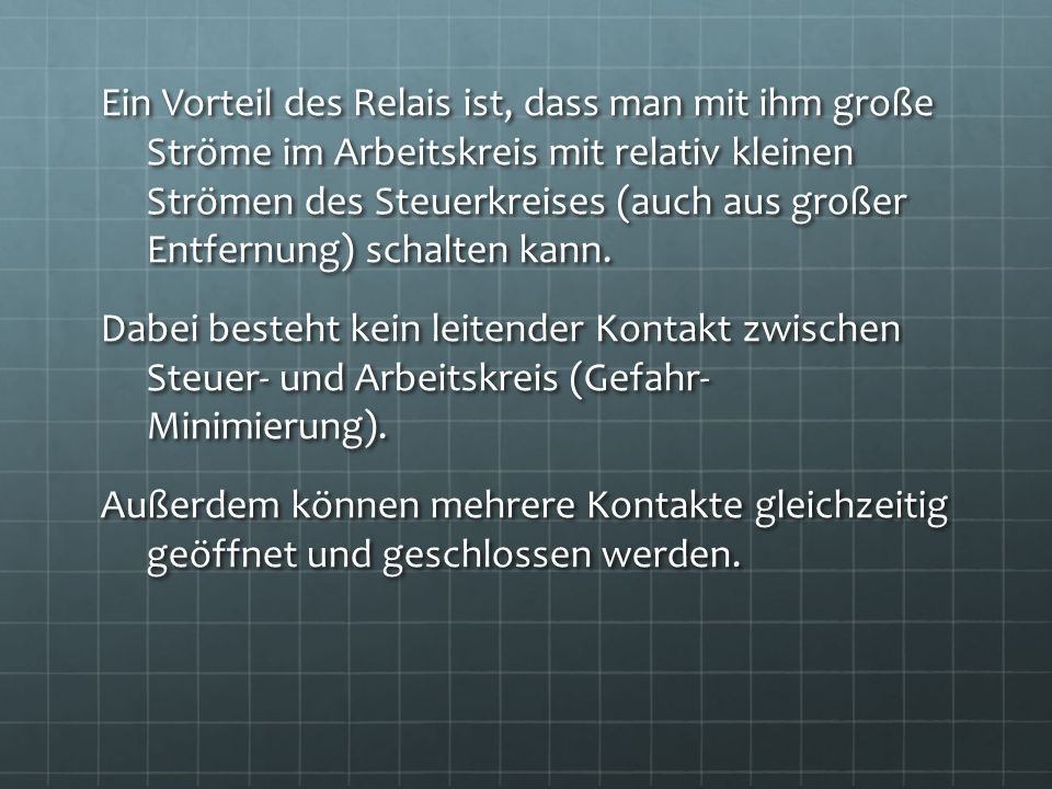 Großartig Steuerkreis Und Stromkreis Galerie - Die Besten ...