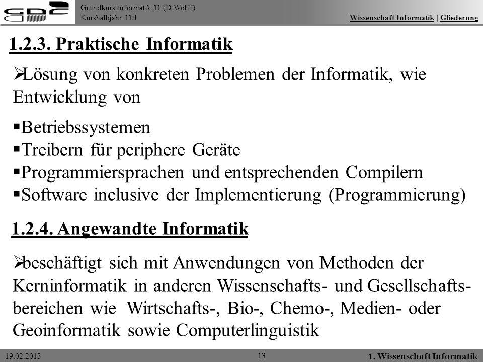 1.2.3. Praktische Informatik