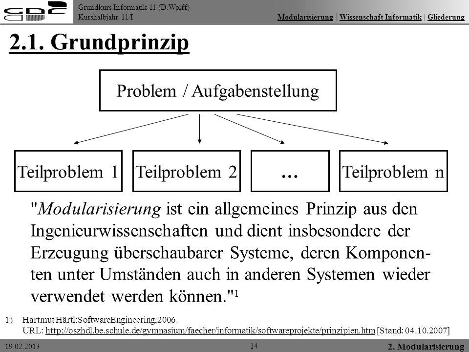 Problem / Aufgabenstellung