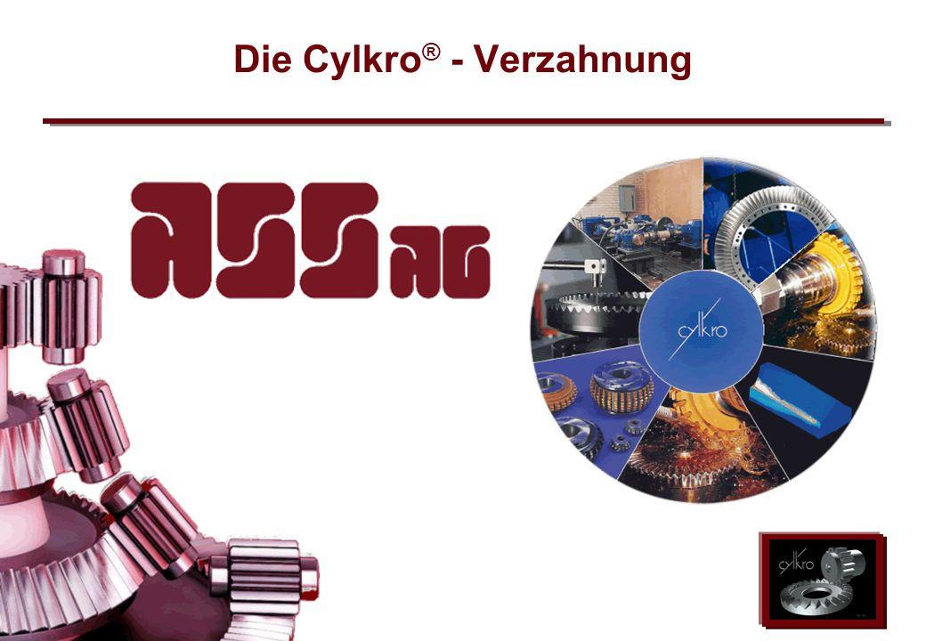 Die Cylkro® - Verzahnung