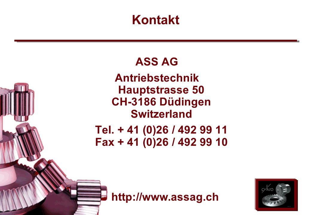 Antriebstechnik Hauptstrasse 50 CH-3186 Düdingen Switzerland