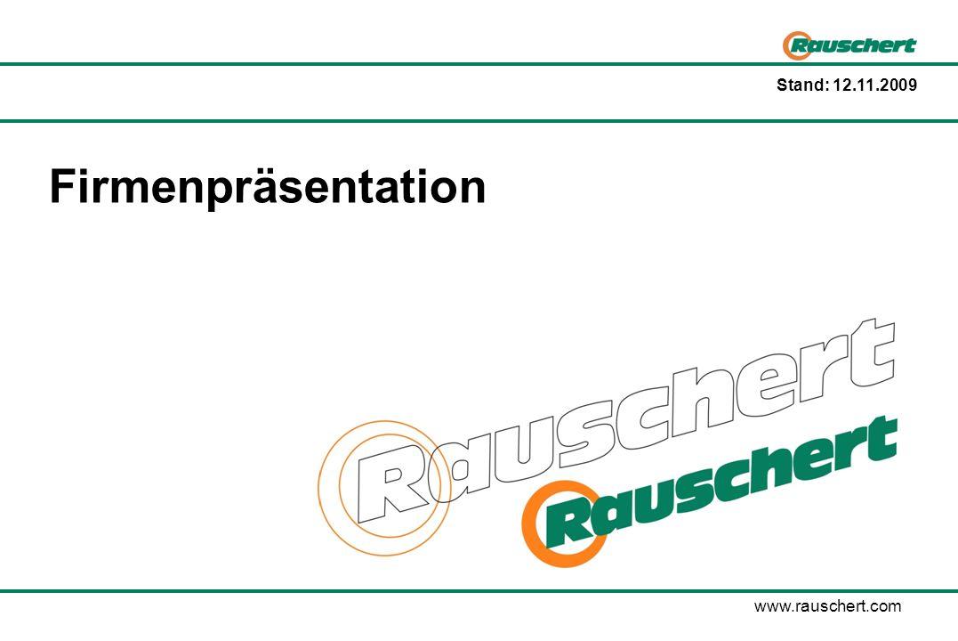 Rauschert-Gruppe ÜBERBLICK