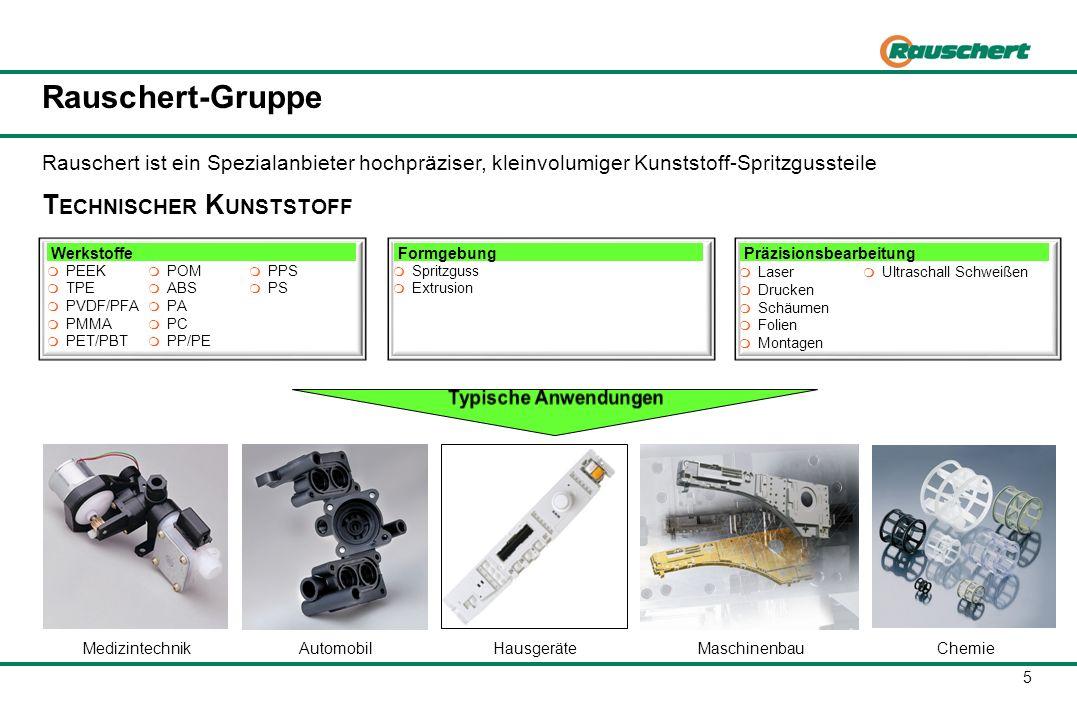 Rauschert-Gruppe BAUGRUPPEN *