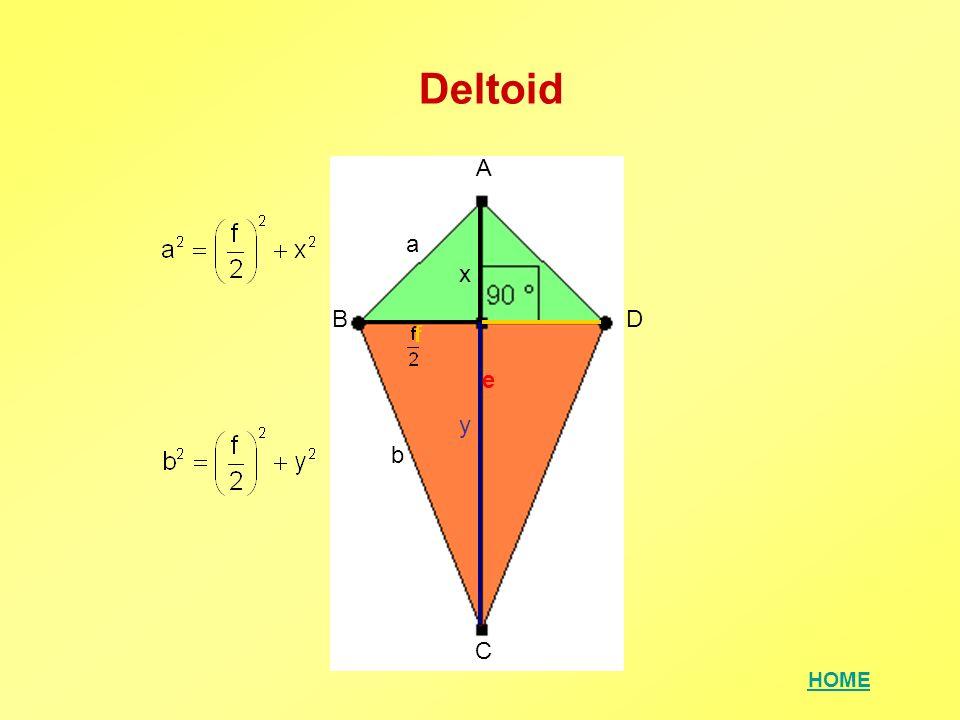 Deltoid A a x B D f e y b C