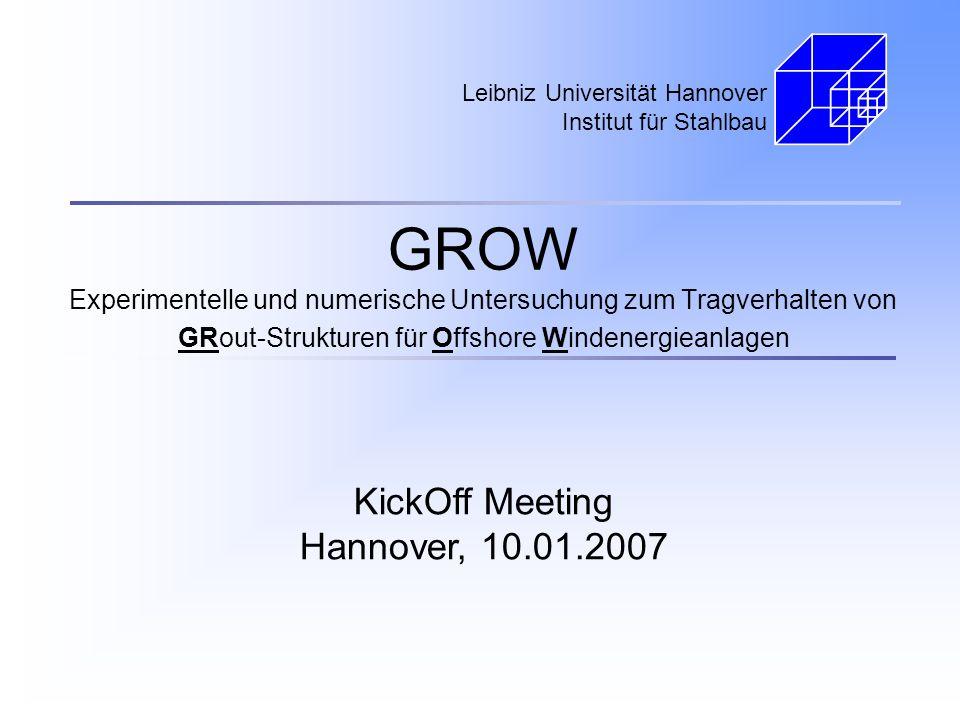 Leibniz Universität Hannover Institut für Stahlbau