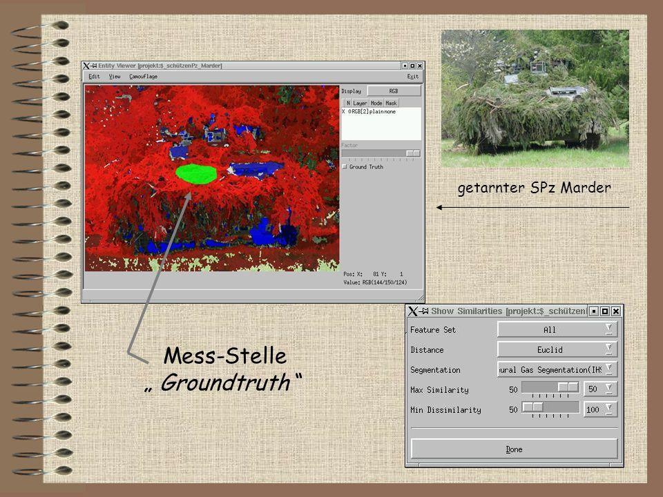 """getarnter SPz Marder Mess-Stelle """" Groundtruth"""