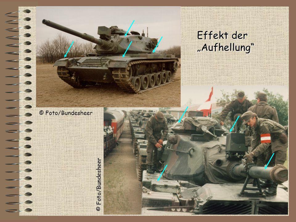 """Effekt der """"Aufhellung © Foto/Bundesheer © Foto/Bundesheer"""