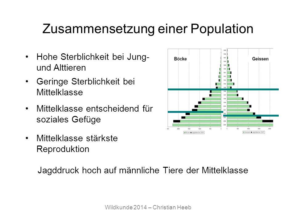 Zusammensetzung einer Population