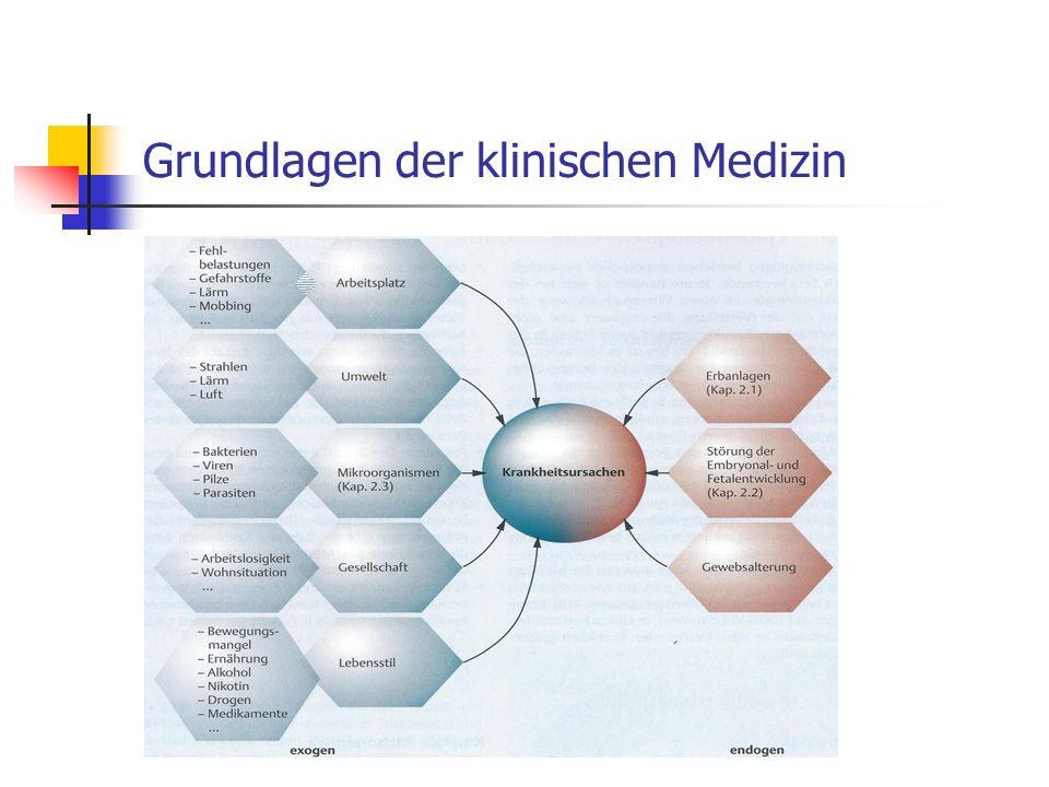 Grundlagen der klinischen Medizin
