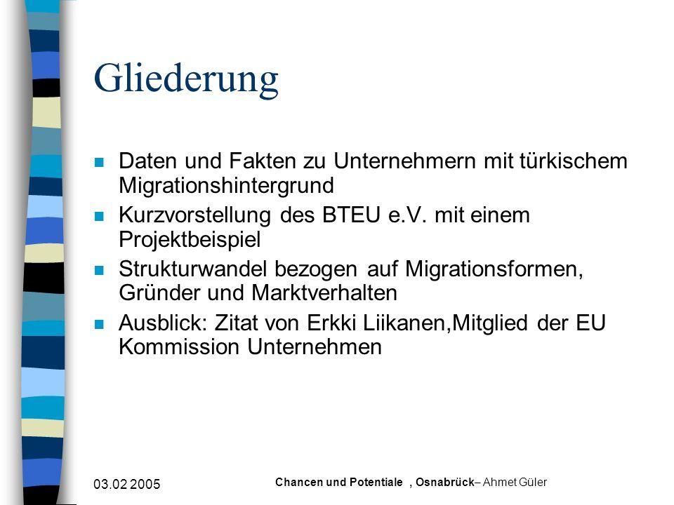 Chancen und Potentiale , Osnabrück– Ahmet Güler