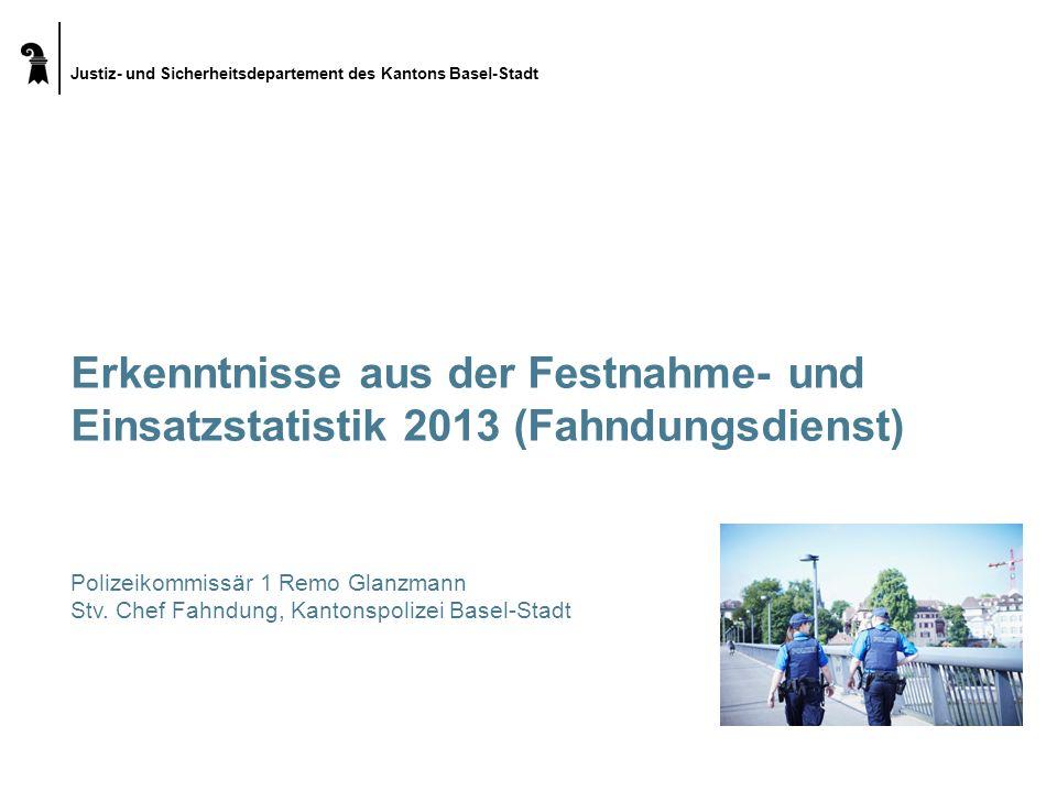 Erkenntnisse aus der Festnahme- und Einsatzstatistik 2013 (Fahndungsdienst)