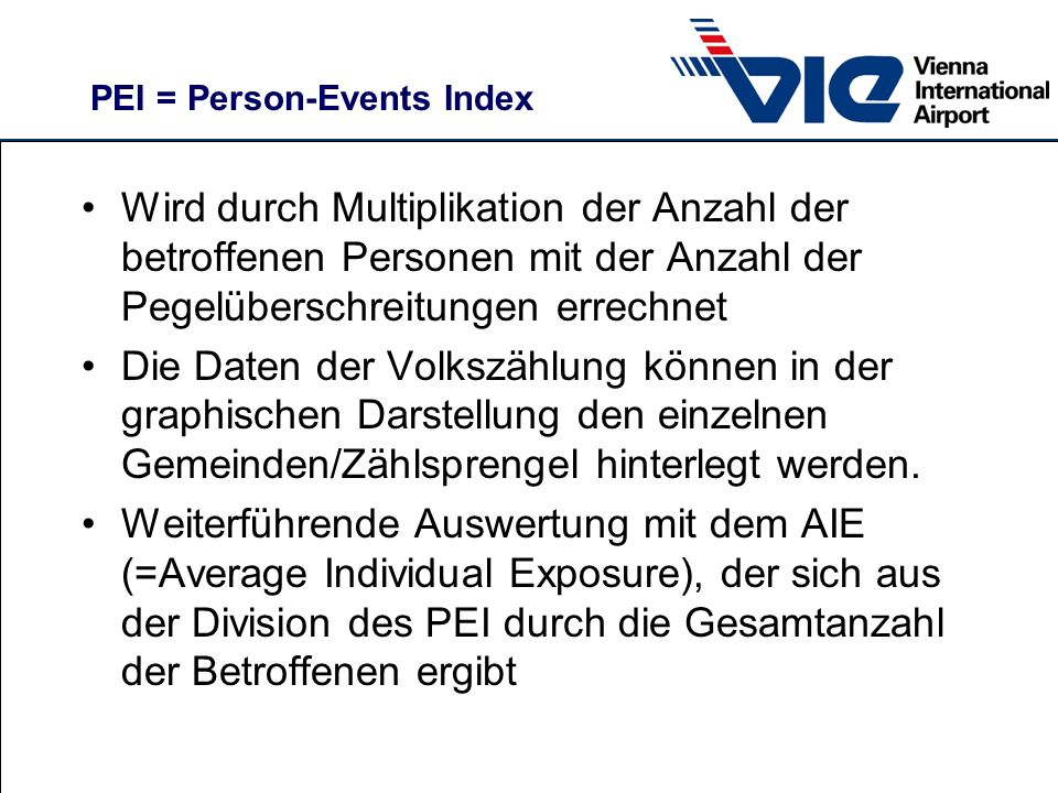 PEI = Person-Events Index