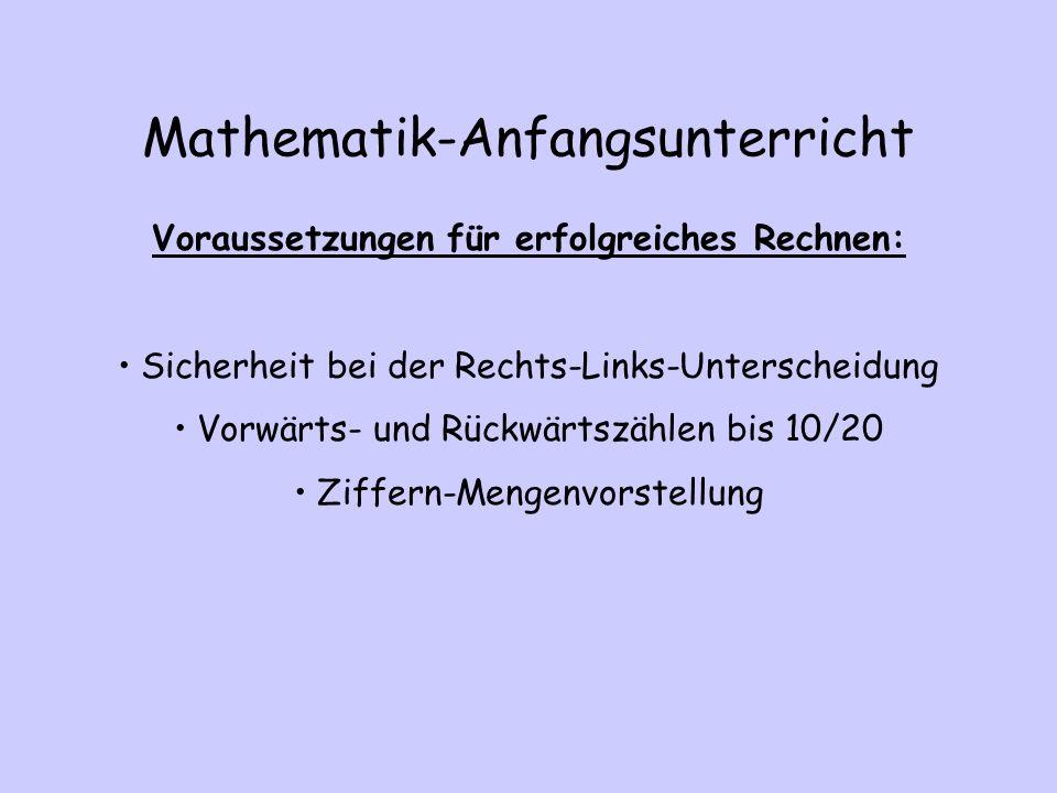 Mathematik-Anfangsunterricht