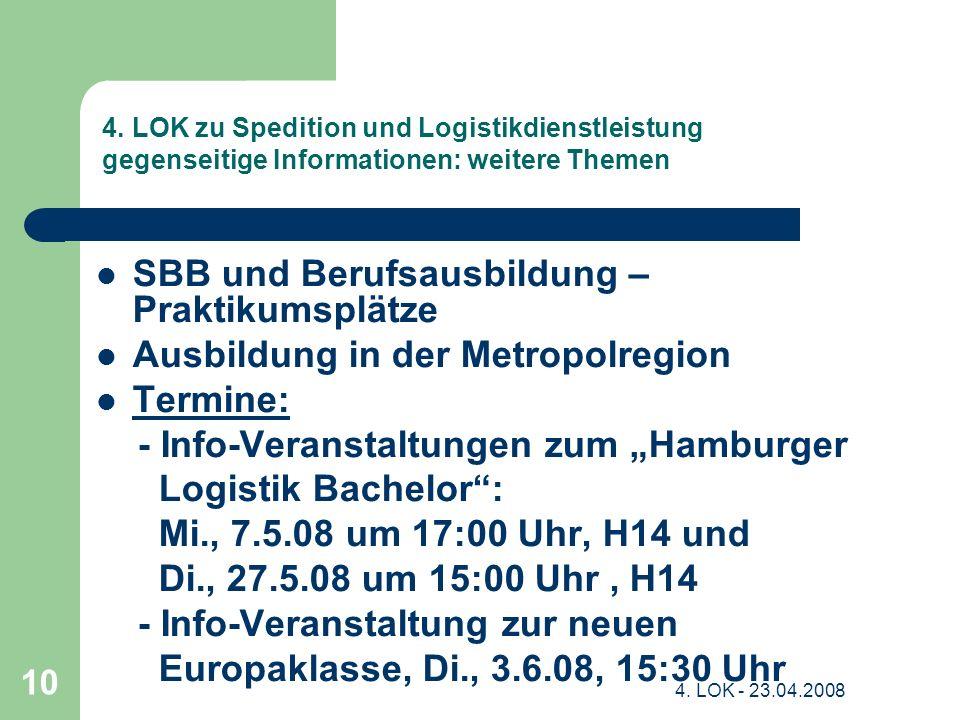 SBB und Berufsausbildung – Praktikumsplätze