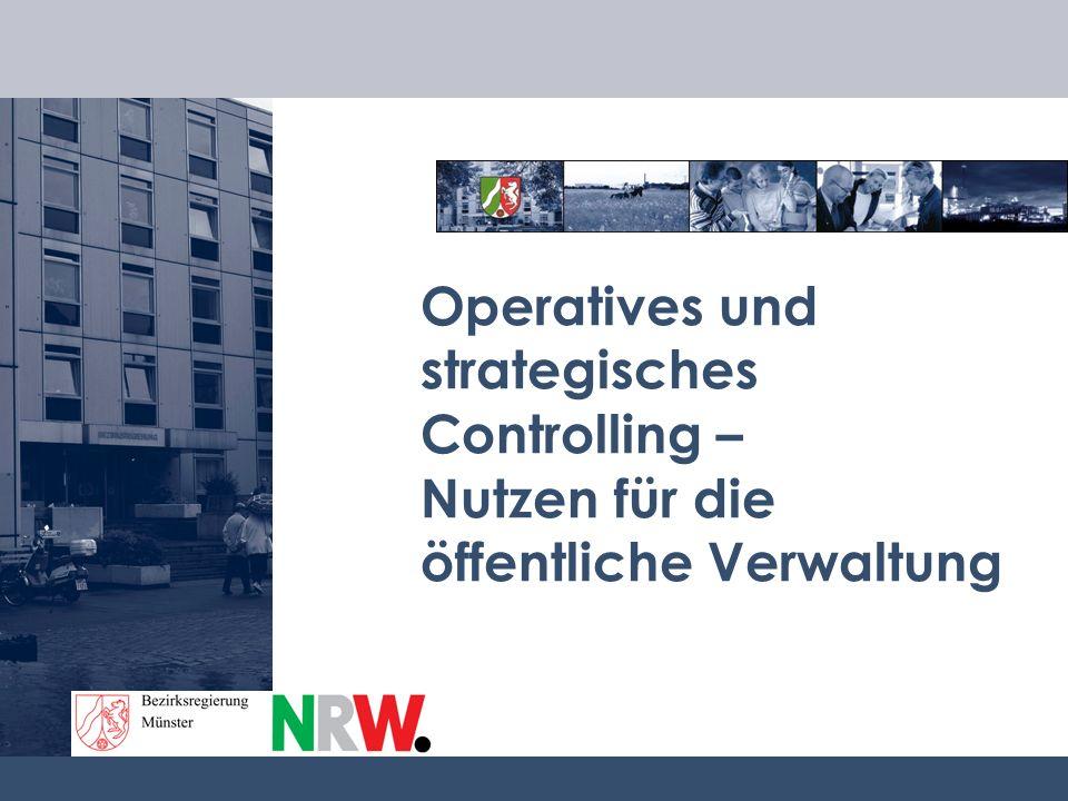 Operatives und strategisches Controlling – Nutzen für die öffentliche Verwaltung