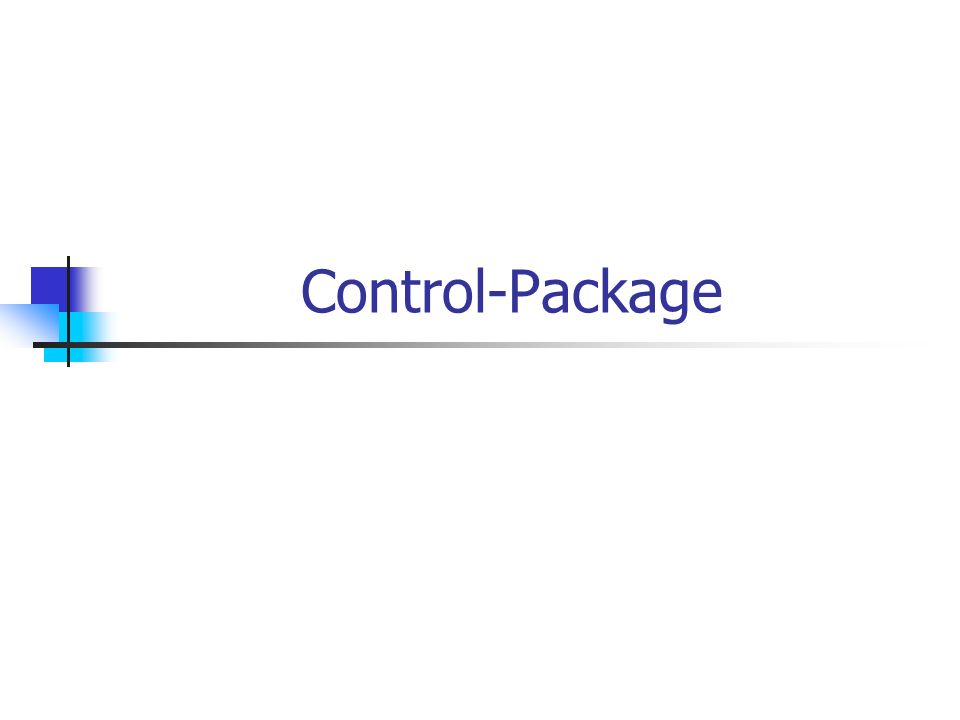 Control-Package