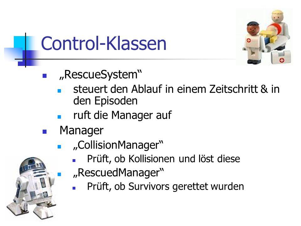 """Control-Klassen """"RescueSystem Manager"""