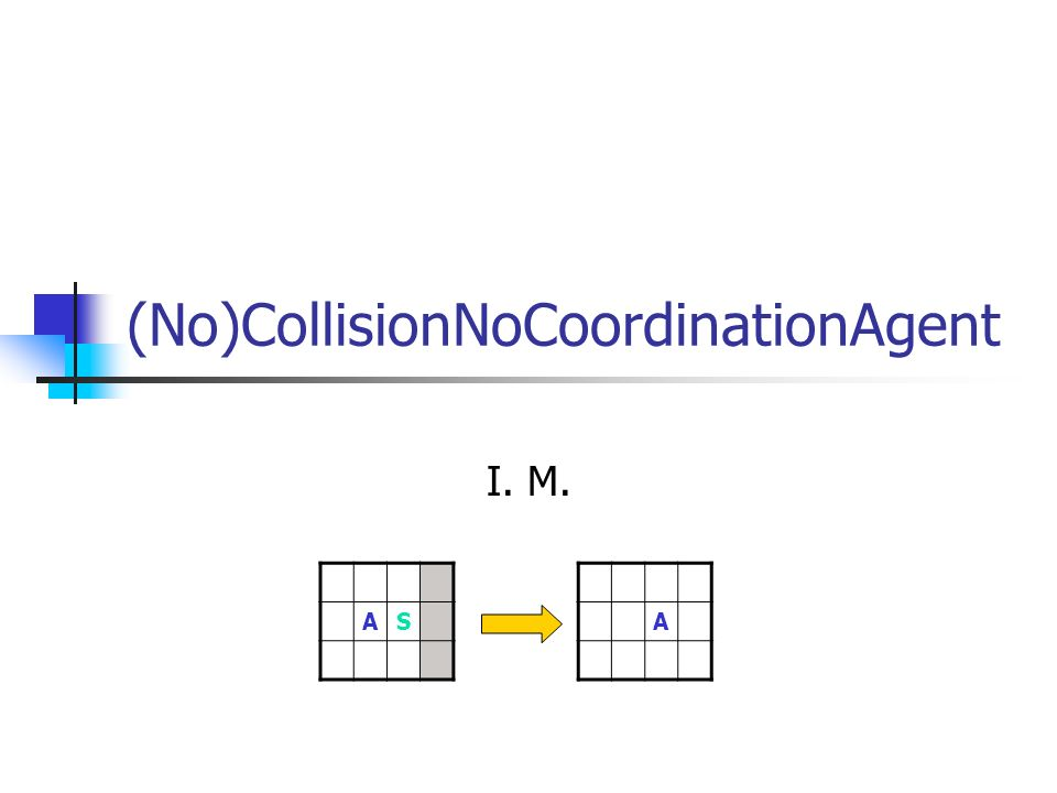(No)CollisionNoCoordinationAgent