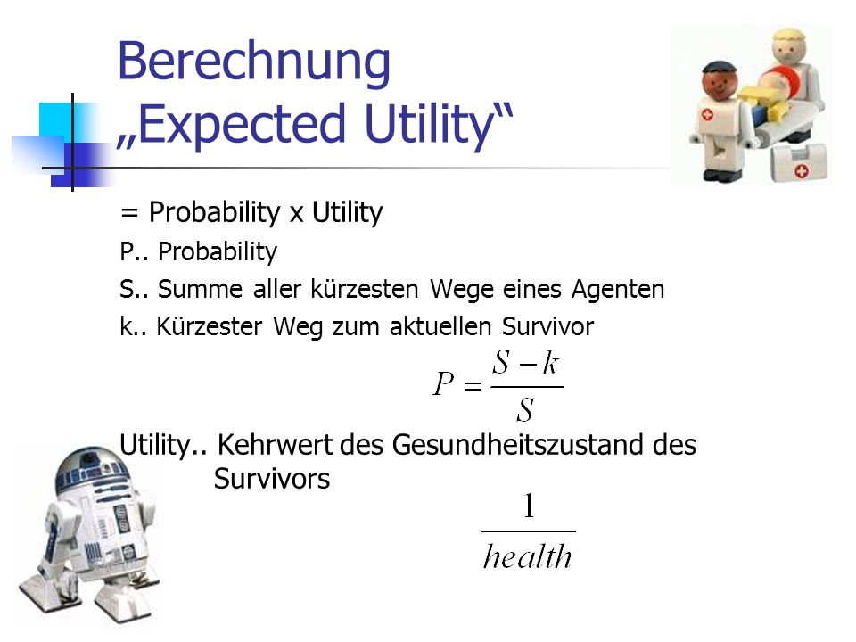 "Berechnung ""Expected Utility"