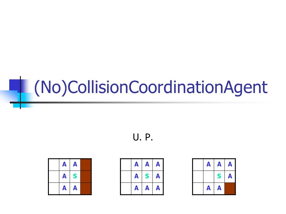 (No)CollisionCoordinationAgent
