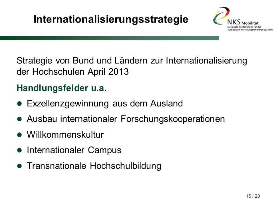 Internationalisierungsstrategie