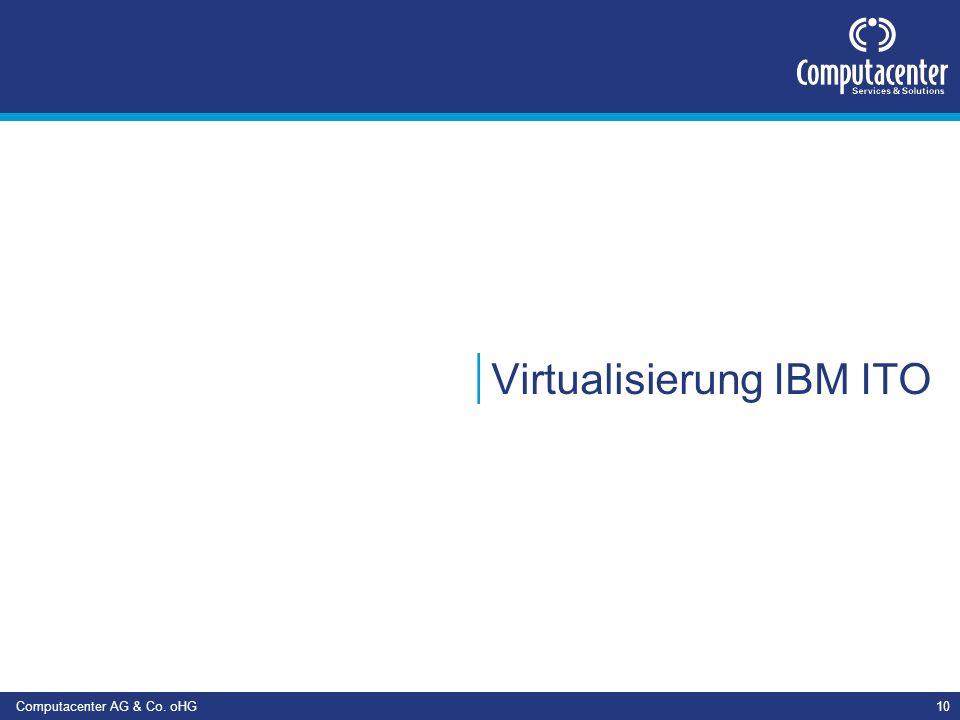 Virtualisierung IBM ITO