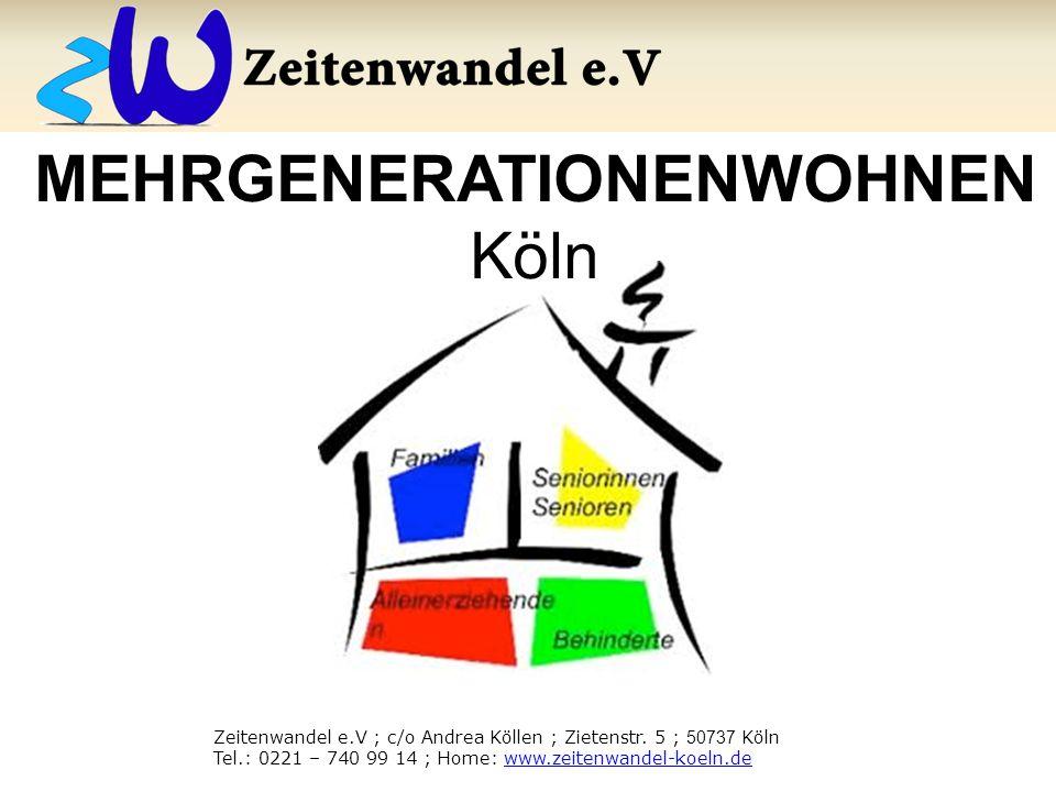 MEHRGENERATIONENWOHNEN Köln