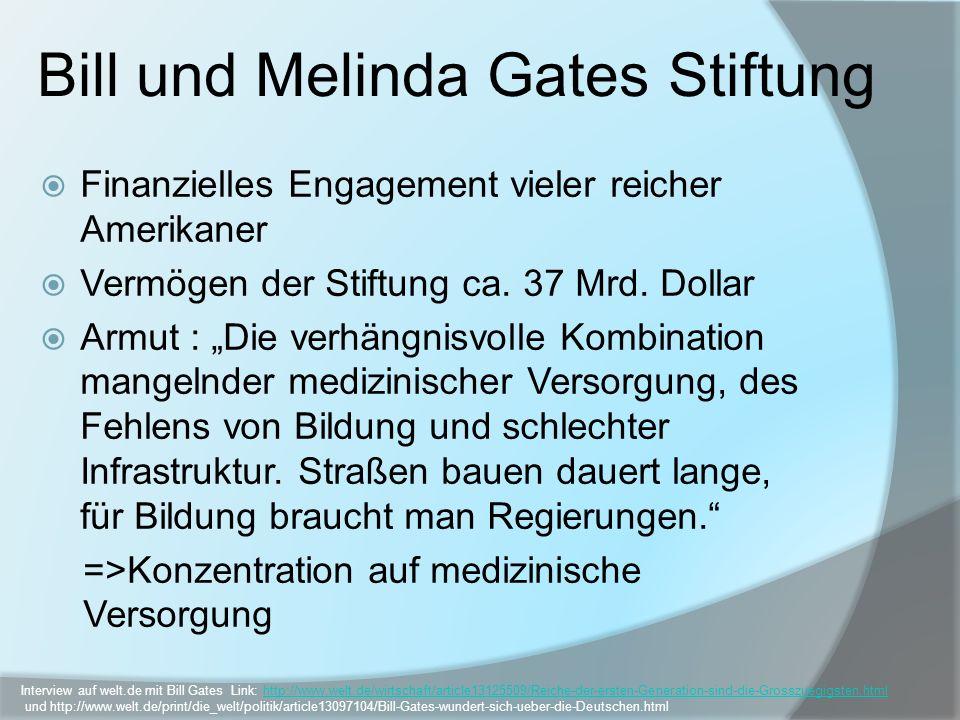 Bill und Melinda Gates Stiftung