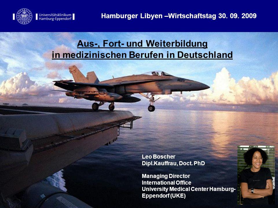 Aus-, Fort- und Weiterbildung in medizinischen Berufen in Deutschland
