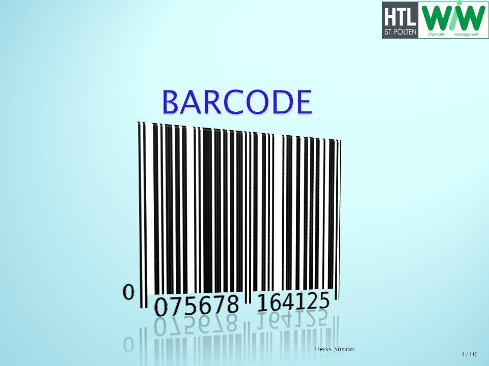 Barcode BARCODE Heiss Simon