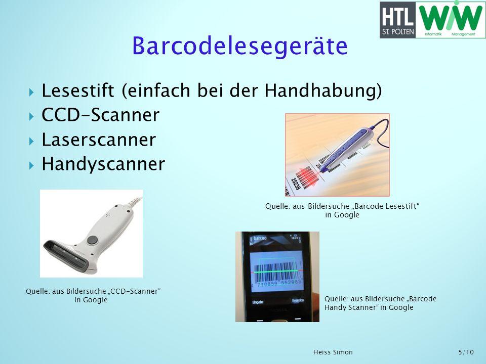 Barcodelesegeräte Lesestift (einfach bei der Handhabung) CCD-Scanner