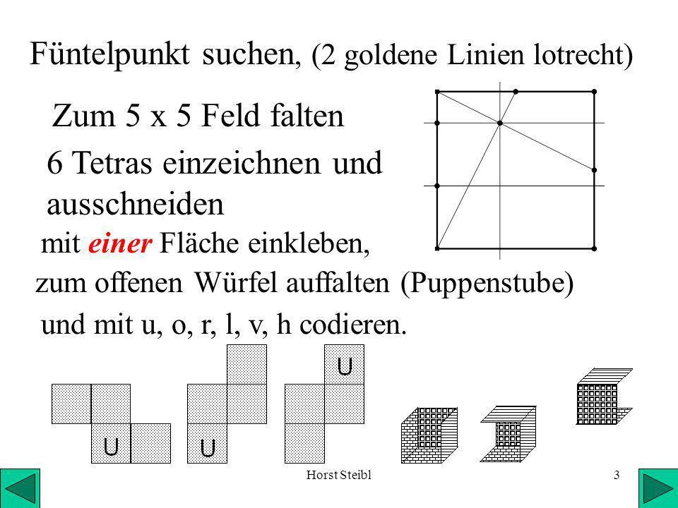 Füntelpunkt suchen, (2 goldene Linien lotrecht)