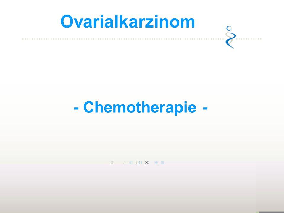 Ovarialkarzinom - Chemotherapie - 1973-1977: 1:70, 1,4%