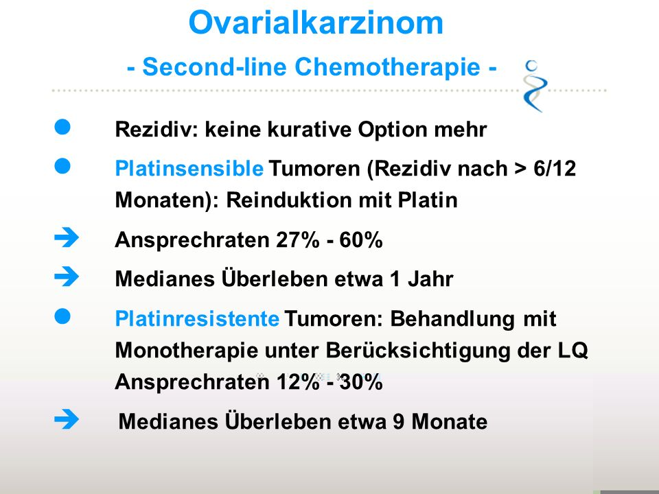 - Second-line Chemotherapie -
