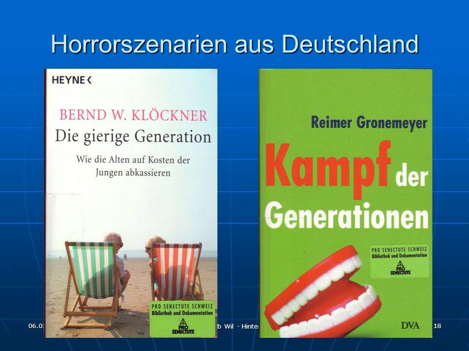 Horrorszenarien aus Deutschland